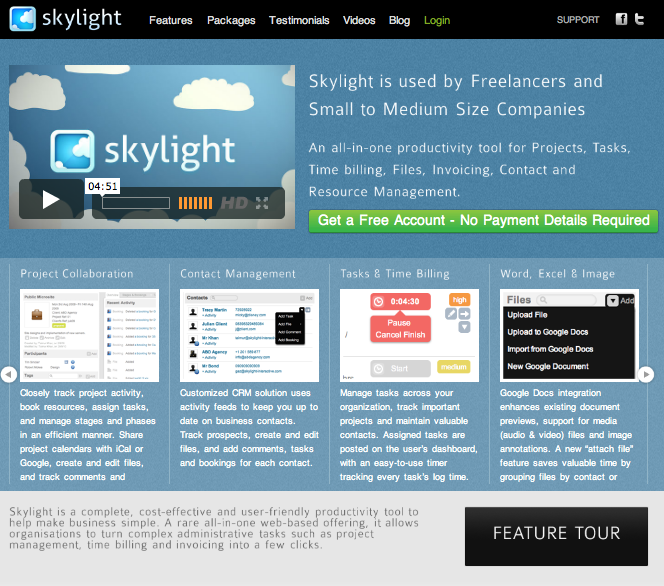 Business Productivity App – www.skylightit.com