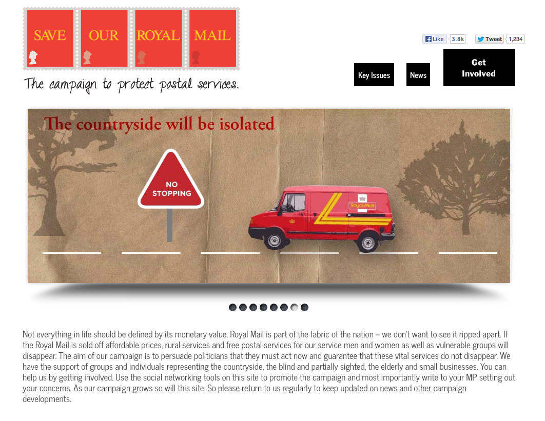 Save Our Royal Mail – Campaign Site